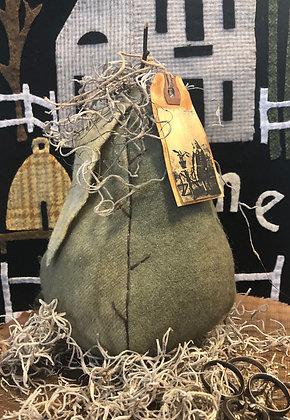 NEW!  Olde Wool Stuffed Pear #1