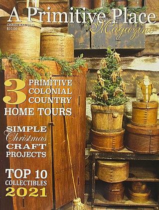 "NEW! ""A Primitive Place Magazine"" Christmas 2020"