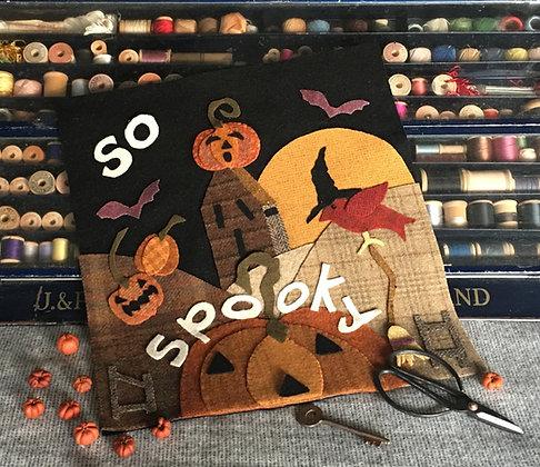 "NEW! #338 ""So Spooky"" October Wool Block"