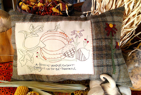 "#257 ""It's a Pleasant Thing"" Wool/Needle Art"