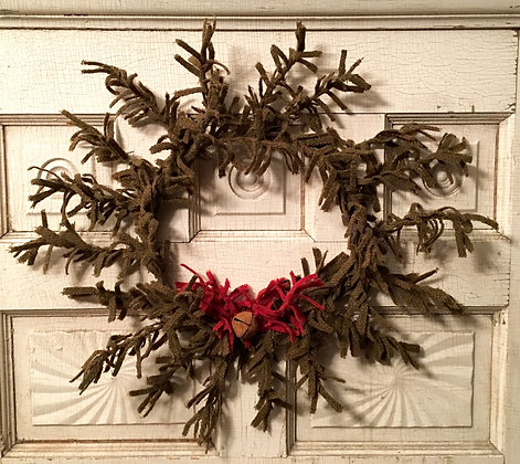 "#307 ""O' Wooly Christmas Wreath"""