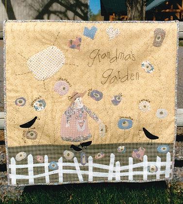 """#86 """"Grandma's Garden"""" Quilt Pattern"""