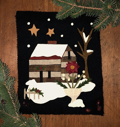 "NEW!  #421 ""A Cabin Christmas"" Pattern Bundle"