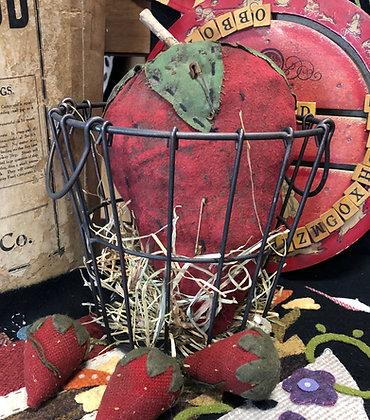 NEW!  Lil Olde Vintage Wire Egg Basket Medium
