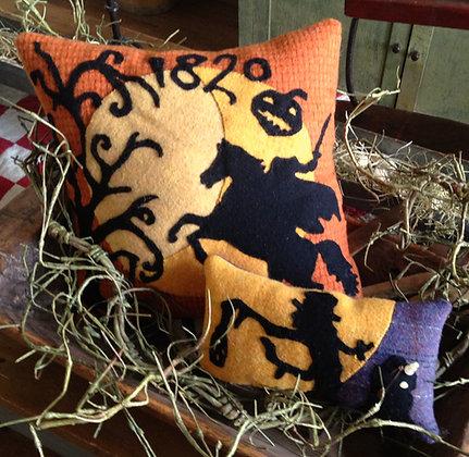 """#252 """"Sleepy Hollow"""" Wool Applique Pattern"""