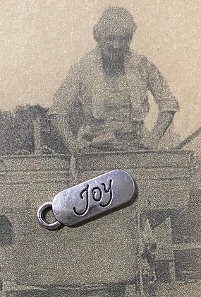 "NEW!  ""Joy"" Sewing Charm"