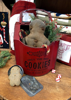 NEW!  Our Cottonwood House Cookie Tin