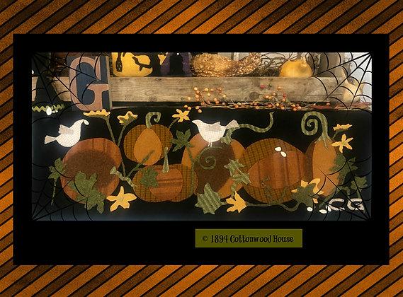 "NEW!  #584 ""An Olde Patch of Pumpkins"""