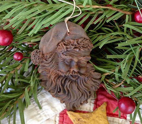 Olde Saint Nicholas Blackened Beeswax Ornament
