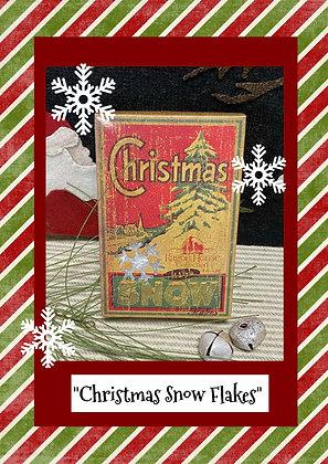 NEW!  Vintage Christmas Snow Flakes