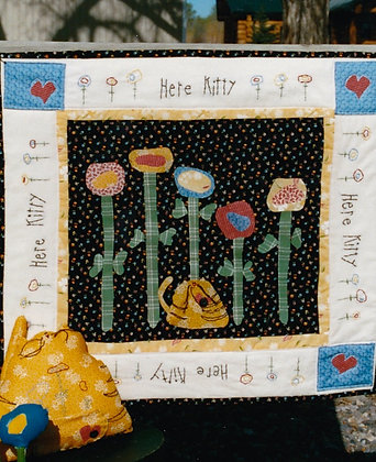 "#85 ""Here Kitty"" Quilt Pattern"