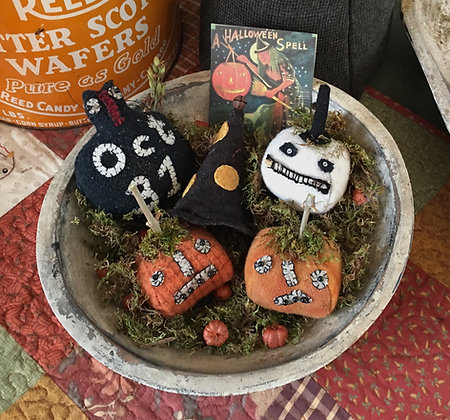 "NEW!  #293 ""A Halloween Spell"" Pantry Bowl Filler"