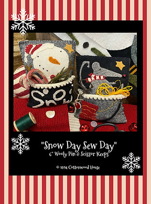"NEW!  #614 ""Snow Day Sew Day"" KIT"