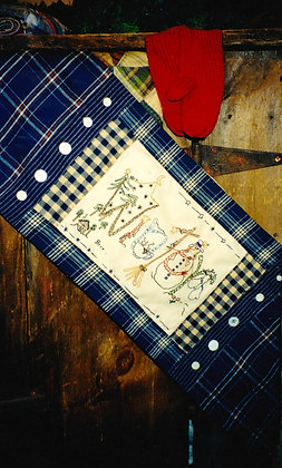 "#75 ""It's Winter"" Table Runner Pattern"