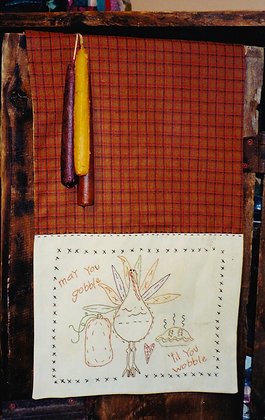 "#66 ""Gobble"" Table Runner/Quilt Pattern"