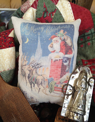 """Olde Vintage """"Rooftop"""" Pantry Pillow"""