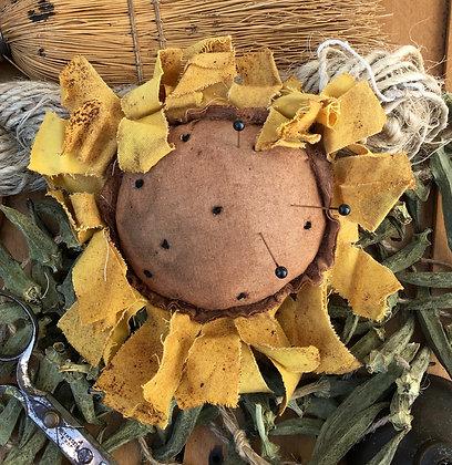 "NEW!  Farmhouse ""Sunflower""Pin Keep"
