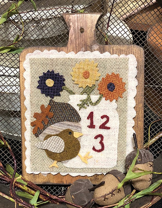 "NEW!  #408 ""Our English Wren - September"""