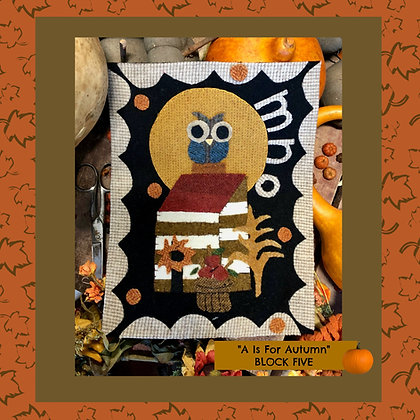 """NEW!  #510 """"A is for Autumn - MNO"""""""