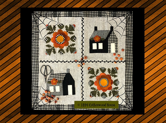 "NEW! #586 Sweet Potato Pie Four Patch"" KIT"
