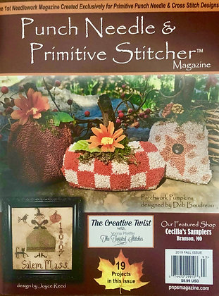 Fall 2019 Punch Needle & Primitive Stitcher