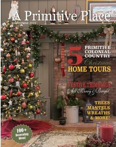 NEW!  A Primitive Place Christmas 2019