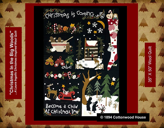"""NEW!  """"Christmas in the Big Woods"""" Pattern Bundle"""