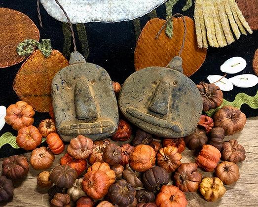NEW!  Olde Pantry Wax Lil Pumpkin Ornaments