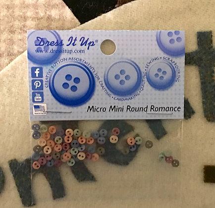 """Romance"" Micro Mini Buttons"