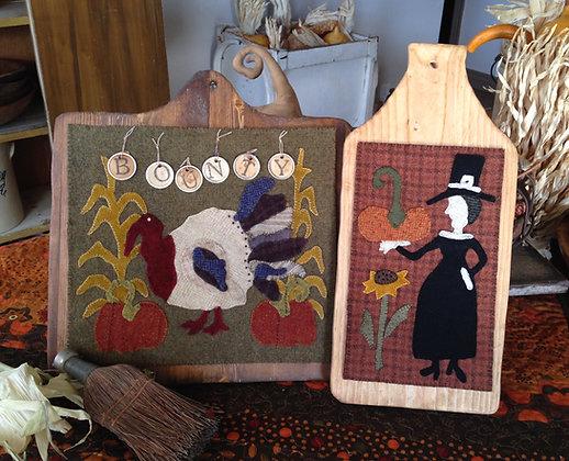 """#258 """"Bounty"""" Wool Applique Pattern"""