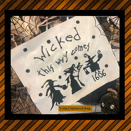 "NEW!  #569 ""Wicked This Way Comes"" KIT"