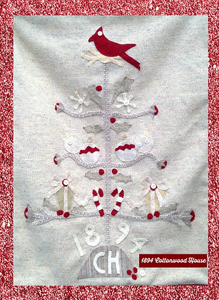"""NEW!  #423""""Simply Christmas"""" Pattern"""