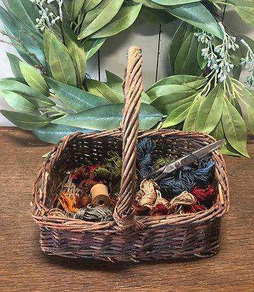"NEW!  ""Cottonwood Vintage Farm Basket #2"""