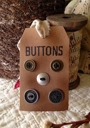 Olde Vintage Metal Buttons