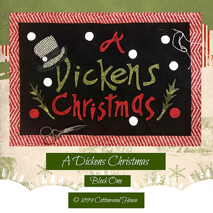 "NEW!  ""A Dickens Christmas"" Pattern Bundle"