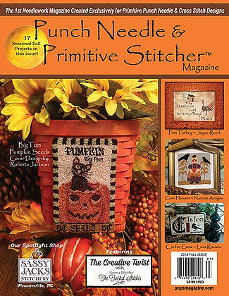 NEW!  2018 FALL Punch Needle and Primitive Stitcher