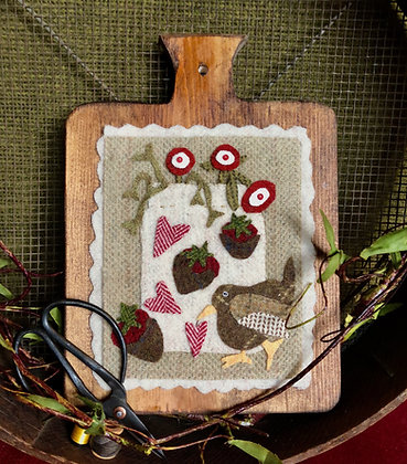 """NEW!  #355 """"Our English Wren"""" February"""