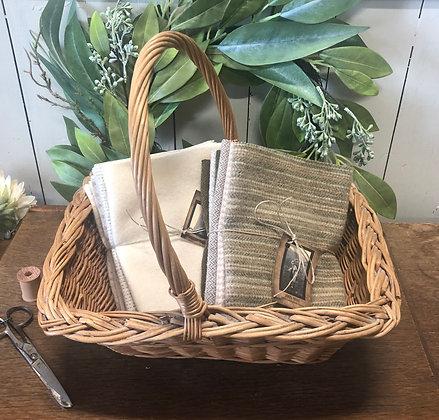 "NEW!  ""Cottonwood Vintage Farm Basket #4"""