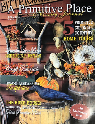 "NEW!  2019 Fall ""The Primitive Place"" Magazine"