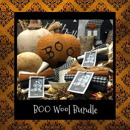 "NEW!  ""BOO"" Wool Bundle"