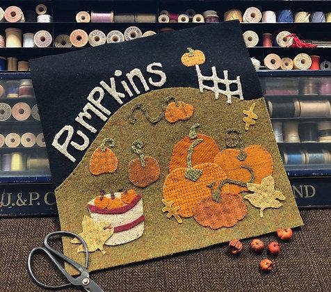 """NEW!  #417 """"The Pumpkin Patch""""  Block #10"""
