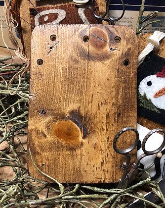 NEW!  Olde Wood Thread Keeper