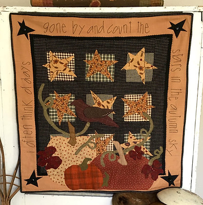 "#107 ""Autumn Sky"" Quilt Pattern"