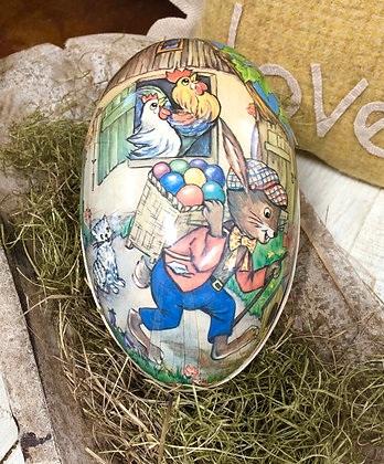 NEW!  Olde Vintage German Easter Egg #7