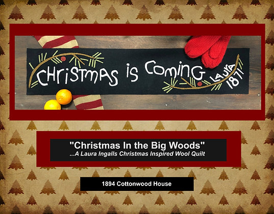 """NEW!  #446 """"Christmas Is Coming 1871"""""""