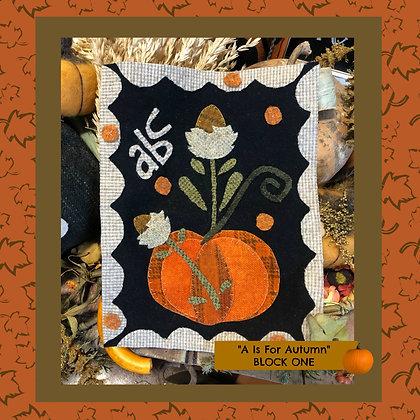 """NEW!  #499 """"Autumn - ABC"""""""