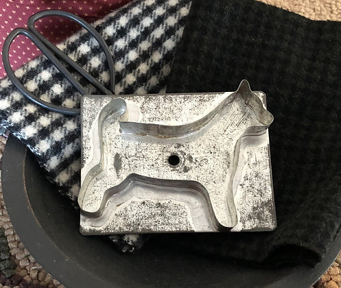 """NEW!  """"Antique Cookie Cutter Charley the Dog"""""""