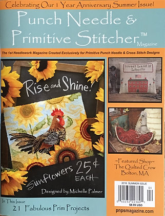 Punch Needle and Primitive Stitches Magazine