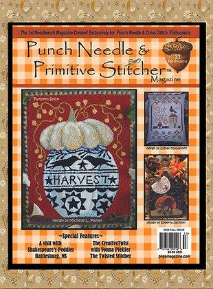 "NEW!  ""Punch Needle & Primitive Stitcher"" Fall 2020"