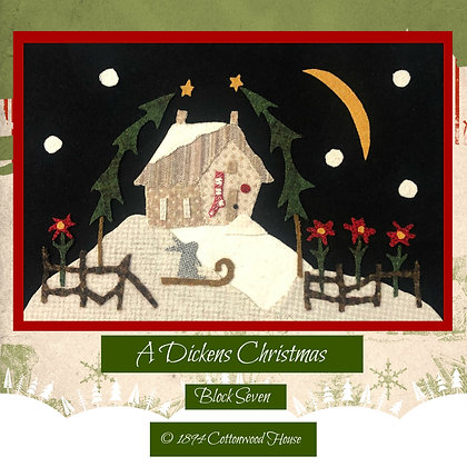 "NEW!  #593 ""Cratchit's Cottage"""